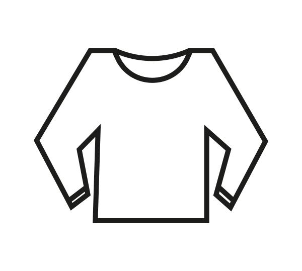 Trui (van niet gebreeën textiel)