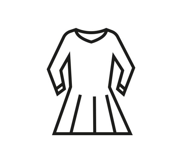 Slaapkleed zonder kraag