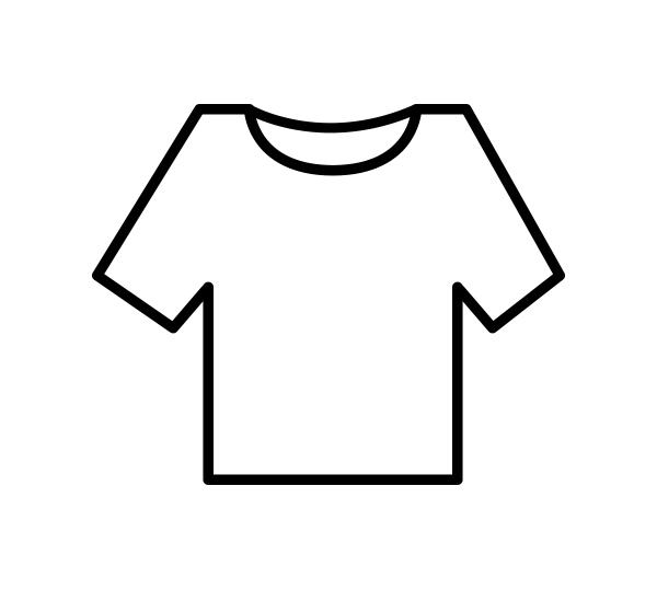 T-Shirt / Onderhemd met mouwen